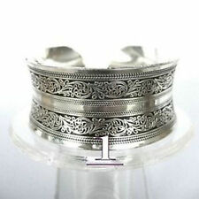 Beautiful!Tibetan Tibet Silver Totem Bangle Cuff Bracelet1#