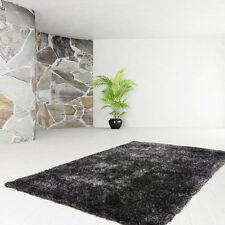 Poils longs Tapis de qualité UNI SHAGGY Moderne Anthracite 120x170