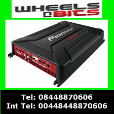 Pioneer GM-A4604 480Watt 4 Channel car amplifier 4/3/2 Speakers & Subwoofer Amp