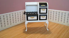Dollhouse Miniature  Furniture ~ 1920's Old Fashioned Stove  ~