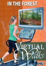 IN THE FOREST VIRTUAL WALK WALKING TREADMILL WORKOUT DVD AMBIENT COLLECTION NEW