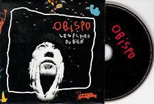 CD CARTONNE 2T PASCAL OBISPO LES FLEURS DU BIEN NEUF !!!!
