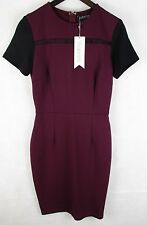 Sugar Hill Boutique - Heather Dress  - Wine Colour  -  BNWT -  Size UK 8