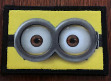 Despicable Me Minion Morale Patch Tactical Military Army Badge Hook Flag