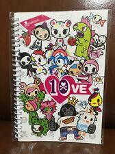 Tokidoki 10 Year Anniversary Glitter Spiral Notebook (TS)
