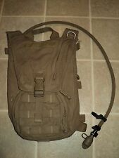 USMC ISSUE FILBE COYOTE HYDRATION CARRIER W/BLADDER USMC PACK CIF TURN-IN A