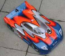 1/8 Jaguar XRS Speed Run Body 2mm Ofna GTP2e Hyper traxxas Slash Rally 0118/2