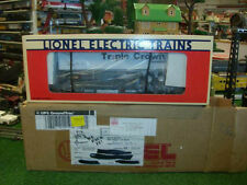 LIONEL TRAINS NO. 52013 ARTRAIN NORFOLK SOUTHERN FLATCAR WITH TRAILER