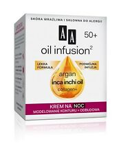 AA OCEANIC OIL INFUSION 50+ Argan,Inca&Inchi Oil,Collagen Rebuilding Night Cream