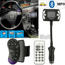 Wireless Bluetooth FM Transmitter MP3 Player USB SD LCD Remote Handsfree Car Kit