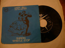 "VINNY BELL""SHINFIG/WHISTLE STOP-disco 45 giri VERVE It 1963"""