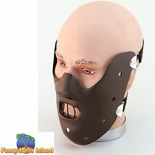 HALLOWEEN HORROR BEST SCARY HANNIBAL MASK Mens Fancy Dress Costume Accessory