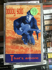 MC  Sealed!!    BOBBY SOLO That's amore     ((( NO LP CD