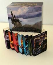 THE COMPLETE 1-7 BOOKS HARRY POTTER BOXED COLLECTION J K ROWLING NEW BOX SET