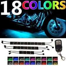 6PC MillionColor Performance LED Neon Lights Kit For Kawasaki Ninja 300 ZX-14 SE