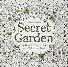 Secret Garden by Johanna Basford (Treasure Hunt and Colouring Book)
