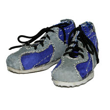 "Did Leather Sneakers Shoes Purple & Gray for 12"" Action Figures 1:6 (2109f3)"
