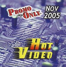 PROMO ONLY- New, DVD HOT VIDEO NOV.-2005,Rihanna,Shakira,Paul McCartney,Queen