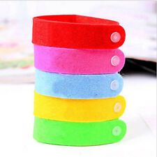 10X Anti Mosquito Bug Repellent Wrist Band Bracelet Insect Nets Bug Lock Camping