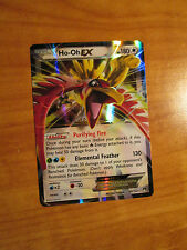 NM Pokemon HO-OH EX Card BREAKPOINT Set 92/122 XY X and Y Ultra Rare 180 HP TCG