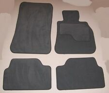 BMW F10 / F11 RHD 5 SERIES & M SPORT 2010 - July 13  GREY CAR MATS + VELCRO PADS