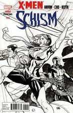 X-MEN: SCHISM (2011) #2 OF 5 VF+ - VF/NM 3RD PRINTING SKETCH COVER FRANK CHO
