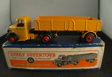 Dinky Toys GB n° 521 camion Bedford articulated Lorry en boite peu fréquent