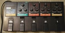 Vintage Korg PME40X with Chorus (stereo), Distortion, Overdrive, and Compressor
