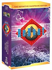 ReBoot The Definitive Mainframe Edition DVD Box Set Kid Family TV Series Show R1