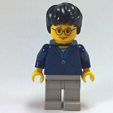Harry Potter Dark Blue Jacket Torso - LEGO Minifigure Chamber of Secrets