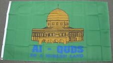 3X5 MUSLIM FLAG AL-QUDS IS A MUSLEN LAND BANNER F522
