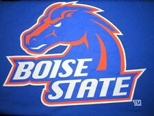 T-Shirt, BOISE STATE Univ Mens XL BEAVERS MORE TEETH THAN BITE Blue Cotton Poly