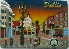 Fridge magnet,Dublin,irish souvenir,ireland 3D design gift GRAFTON STREET/NIGHT