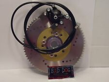 "Mini Bike GO KART DRIFT TRIKE COMBO BRAKE  SPROCKET CALIPER 1 1/4"" LIVE AXLE 72"