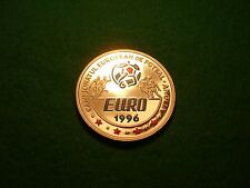 ROMANIA SILVER PROOF 100 LEI EURO 1996 FOOTBALL FREEPOST