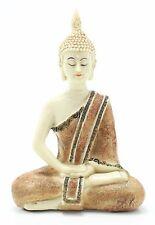 "Feng Shui 5.5"" Thai Earth Touching Meditating Buddha Figurine Peace Statues"