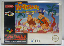 THE FLINTSTONES  - SNES SUPER NINTENDO PAL BOXED