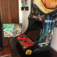 FREDDY vs JASON custom MINI bartop ARCADE game machine cabinet MAME ELM STREET