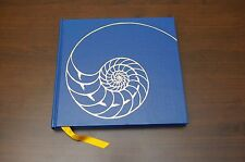 Vintage Shell Oil Company Desk Calendar 1970 NOS Picture Drawings Blue Hardcover