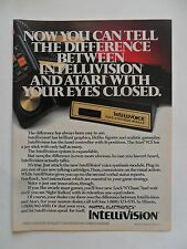 1982 Print Ad Mattel Electronics Intellivision Voice Synthesis Module