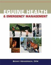 EQUINE HEALTH AND EMERGENCY MANAGEMENT - NEW PAPERBACK BOOK
