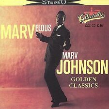Golden Classics by Marv Johnson Cassette (Brand New, Factory Sealed)