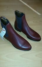 Leather Hawkins jodpur riding boots UK 7