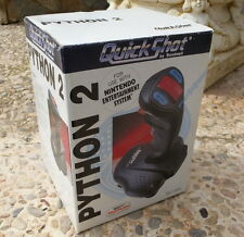 NINTENDO NES Joystick Quickshot PYTHON 2. Perfecto estado. En CAJA