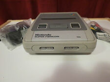 Nintendo Super Famicom Nintendo Console with Ac Adapter and Av Cables Fast Ship