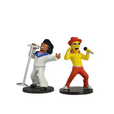 New The Simpsons 25th Anniversary Kid Rock and James Brown Mini Figures Neca