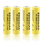 4pcs 3.7V 18650 9900mah Li-ion Rechargeable Battery For LED Flashlight Torch JH