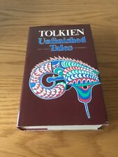 Unfinished Tales By J R R Tolkien Hardback Book & Pull Out Map