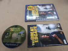 PS2  PlayStation 2 Pal Game THE GREAT ESCAPE with Box Instructions