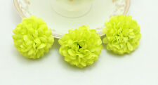 10pcs Green NEW Daisy Artificial Silk Flowers Heads Wedding party DIY